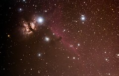 Horsehead Nebula and Flame Nebula ([-ChristiaN-]) Tags: flame nebula horsehead alnitak ic434 ngc2023 ic 435 ic432 milkyway deep sky siril stacking astrometrydotnet:id=nova3859097 astrometrydotnet:status=solved orion