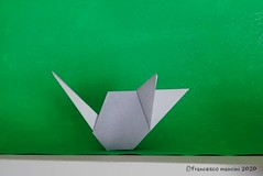 2020 year of the mouse (mancinerie) Tags: origami paperfolding papiroflexia papierfalten francescomancini mancinerie mouse