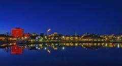 Gravanne, Kristiansand, Norway (gormjarl) Tags: kristiansand wather lake fjord sunset beach water sky natur night art light sun cloud landscape street river otra norway city odderøy
