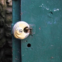 Padlock in Hesketh Park (metamodule) Tags: southport