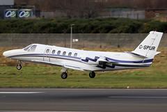 G-SPUR (GH@BHD) Tags: gspur cessna c550 c550citationii belfastcityairport citation citationii londonexecutiveaviation luxaviation aircraft aviation bizjet corporate executive