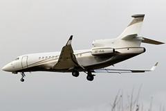 SE-DJL_05 (GH@BHD) Tags: sedjl dassaultfalcon7x dassault falcon falcon7x svenskiindustriflygab belfastcityairport bhd egac bizjet corporate executive aircraft aviation trijet