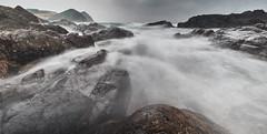 Flow to you (Wilson Au   一期一会) Tags: hongkong tunglungchau landscape slowshutter longexposure rock sea water sky cloudy overcast fujifilm xe2 fujinon xf1024mmf4rois