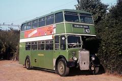 Eastern National Omnibus Company . 2375 WNO473 . Basildon Garage Yard , Essex  . October-1969 . (AndrewHA's) Tags: essex basildon bus garage yard easternnational bristol k ecw eastern coach works 2375 wno473