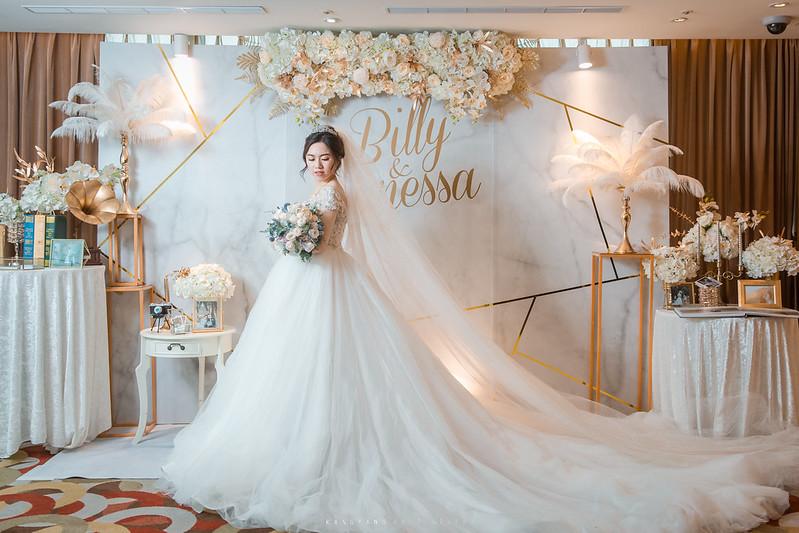 [台中婚攝] Billy&Vanessa 早儀午宴 婚禮紀錄 @ 台中亞緻大飯店 宴會廳| #婚攝楊康