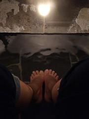 足湯 (foot spa) (Paul_ (shin.ogata)) Tags: 伊豆 izu 修善寺 shuzenji spa 温泉 足湯 foot