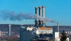 Smoke (Lense23) Tags: landscape landschaft thüringen germany deutschland jena industrial industrie