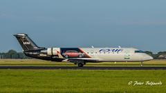 S5-AAF   Bombardier CRJ-200 - Adria Airways (Peter Beljaards) Tags: bombardier crj200 adriaairways s5aaf nikon7003000mmf4556 ams eham airplane aircraft schiphol haarlemmermeer aviationphotography nikon70300mmf4556 msn7272