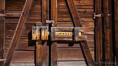 Latch on Barn Door - Valles Caldera (LDMcCleary) Tags: