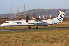 Flybe G-ECOB BHD 03/01/20 (ethana23) Tags: planes planespotting aviation avgeek aircraft aeroplane airplane flybe bombardier dash8 dehavilland q400 dehavillandcanada