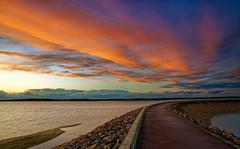 Coucher de soleil sur le lac d'orient à Mesnil Saint Père (Glc PHOTOs) Tags: 20191220165113glc6791nikond85024mmdxo glcphotos nikon d850 fx full frame 45mpixel tamron sp 2470mm f28 di vc usd g2 tamronsp2470mmf28divcusdg2 a032 sunset coucherdesoleil lac lake mesnil saint st père orient
