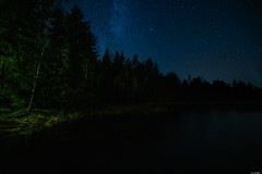 Dark lake (Rico the noob) Tags: dof night z7 landscape finland stars outdoor lake trees tree travel forest published sky nature 1430mm 2019 water 1430mmf4s
