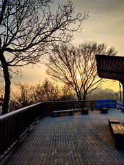 Namsan Park, Séoul. (YoonHaa) Tags: travel southkorea séoul winter sunset