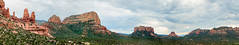 Sedona Panorama (Ron Drew) Tags: nikon d800 panorama sedona arizona usa winter stitch mountains trees clouds redrocks coconinonationalforest valley landscape