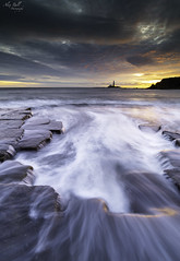 Morning Glow (Alex365pix) Tags: seascapes sea sunrise stmarys rocks landscape lighthouses le leefilters nikon northeastcoast northumberland tyneside benro moody