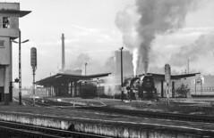 Leszno Departure (Kingmoor Klickr) Tags: gordonedgar leszno wolsztyn ol49 4959 signalbox poland railwaystation