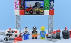 Random minifigs #15  World racing (Alex THELEGOFAN) Tags: lego legography minifigure minifigures minifig minifigurine minifigs minifigurines racer race car drive racing world track fast oil fuel wheel nitro