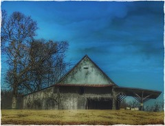 Remember when.... (Sherrianne100) Tags: countryside rural dilapidated oldbarn barn ozarks missouri