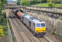 60066, Bath (Glen Batten) Tags: bath somerset 60066 6b33 railbath drax