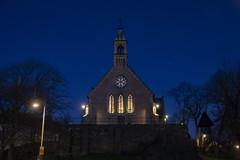 Blue hour (Rudi Pauwels) Tags: project365 bluehour chapel church sanktabirgittakapell goteborg gothenburg sverige sweden shweden 4366 3662020