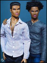 He's With Me (FashionDragon) Tags: africanamerican blackbarbie jeantherapy tobiasalsford fashiondoll designerdoll blackdoll jasonwu fashionroyalty bobmackie integritytoys byronlars stephenburrows nuface jessyayala davidbuttery