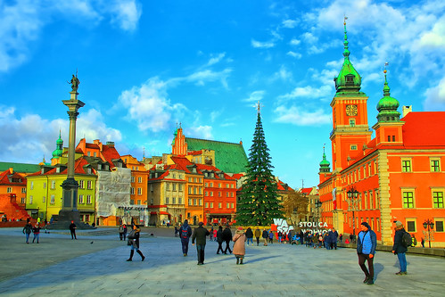 Warsaw. Plac Zamkowy