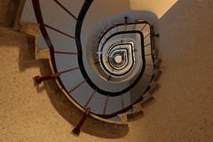 The Eye (Elbmaedchen) Tags: stairwell stairs stufen spirale steps staircase treppenauge treppenhaus escaliers escaleras interior roundandround upanddownstairs unterwegsmitmichael hamburg