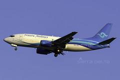 VH-VLI B733 NAURU YBBN (Sierra Delta Aviation) Tags: nauru airlines boeing b733 brisbane airport ybbn vhvli
