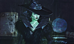 Wicked Always Wins. | xo. (Sympathy for the De Vil) Tags: disney villain secondlife dark witch crazy magic magical gothic goth witchy