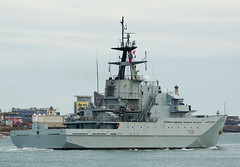 HMS Tyne (phillipwilmshurst1) Tags: hms tyne river class opv portsmouth harbour