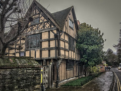Shakespeare's Daughter's House in Stratford Upon Avon built in 1613 (hkcarmic) Tags: williamshakespeare susannahall hallscroft johnhallshakespearessoninlaw stratforduponavon warwickshire england royalshakespearecompany