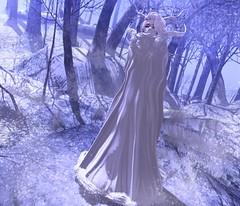 ☽ .A Winter Storm Return. ☾ (Freaks Fashion) Tags: blog secondlife second life sl winter rm random matter cureless genus maitreya dee blindside freaks freaksfashionblog deetalez truth niju antlers cloak badass