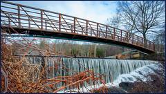 Water Under the Bridge (Timothy Valentine) Tags: clichésaturday bridge large water 0120 2020 nottememorialpark northprovidence rhodeisland unitedstatesofamerica