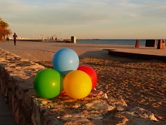 Vesprada (2) (calafellvalo) Tags: sunset beach atardecer calafell playa colores soir puesta tarde calafellvalo atardecerocasocalafellpostasunset natura