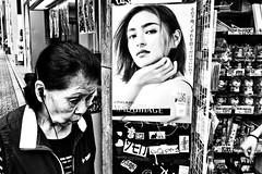Tokyo Moment (Victor Borst) Tags: street streetphotography streetlife real reallife realpeople asian asia asians faces face candid city cityscape citylife fuji fujifilm xpro2 expression expressions mono monotone monochrome urban urbanroots urbanjungle blackandwhite bw beautiful tokyo japan japanese happyplanet asiafavorites