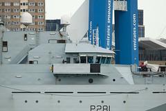 Bridge HMS Tyne (phillipwilmshurst1) Tags: bridge hms tyne portsmouth harbour river class opv