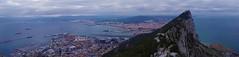 Gibraltar (little_frank) Tags: gibraltar rock geology bayofgibraltar spain linea de la conception uk panorama nature landscape coast mediterranean sea skyline peak top slope view scenery beautiful amazing