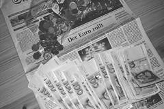 Der EURO rollt | 2. Januar 2002 | Tarbek - Schleswig-Holstein - Deutschland