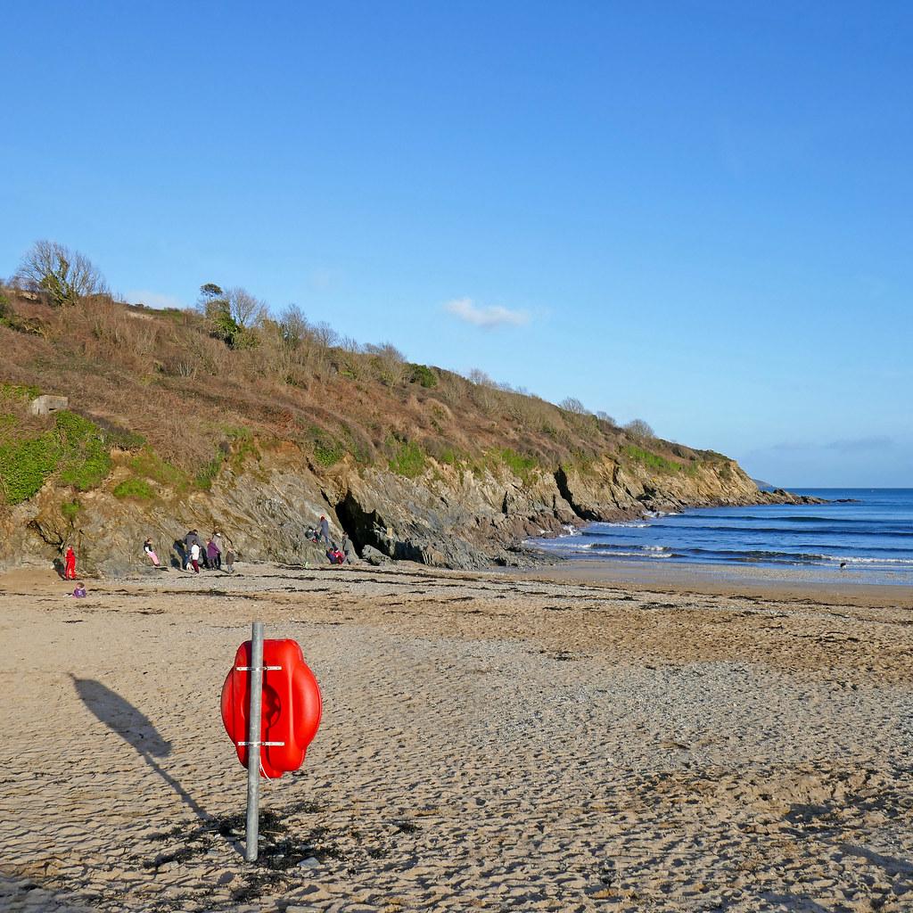 Maenporth Beach
