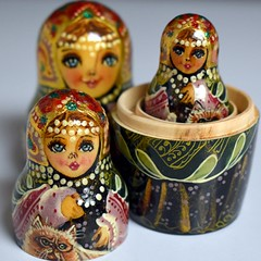 Russian Beauties (kenman2010) Tags: contained macromondays russian beauties nestingdolls