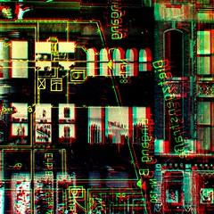 retention ii (fibreman) Tags: digital art manipulation composite psychedelic lofi artefacts manchester artist psp uk distorted colour ambient abstract 3d lysergic trippy druggy lsd dmt autism sensory creative abstractart digitalart