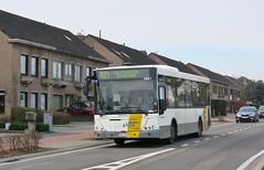 4867 821 (brossel 8260) Tags: belgique bus delijn brabant