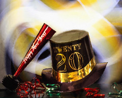 In with the New (lclower19) Tags: 120in2020 76 20 hat noisemaker iphonelightpainting ai newyear odc beginnings 152 522020