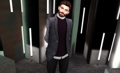 Pretentious (EnviouSLAY) Tags: noche sweater purple gray jacket new beard pants release mens tori magnificent the newrelease chinos torricelli tmd themensdepartment toritorricelli stealthic guy jake event bento mensfashion department monthly belleza mensevent lelutka monthlyevent mensfair mensmonthly monthlyfair monthlyfashion monthlymen life gay male men fashion photography fair blogger pale secondlife lgbt second