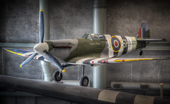 British Supermarine Spitfire Mk Vb Fighter (donnieking1811) Tags: louisiana neworleans thewwiimuseum theworldwariimuseum spitfire airplane aircraft royalairforce museum indoors fighter worldwarii hdr canon 60d lightroom photomatixpro