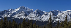 Rockies on a clear day (Robert Grove 2) Tags: rockies mountains range snow clear nature canada