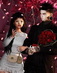 And love is all that I need... (Mulan Cadena Skarsgard) Tags: ddl maskara levelevent secondlife sl slmoments cutecouple