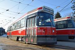 Toronto Transit Commission 4001 (apta_2050) Tags: torontotransitcommission ttc urbantransportationdevelopmentcorporation utdc schweizerischeindustriegesellschaft sig canadianlightrailvehicle clrv streetcar tram publictransit cityscape streetscape cityphotography leslieville toronto ontario
