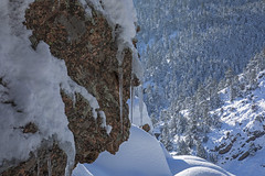 Icicles (Jeff Mitton) Tags: icicle gregorycanyon snow ice winter canyon mountain boulder colorado bouldercountyopenspaceandmountainparks landscape earthnaturelife wondersofnature