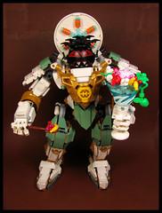 Sundae Special (Karf Oohlu) Tags: lego moc scifi figure mecha lloydstitanmech sundae sundaeicecream